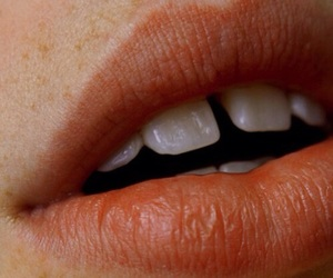 lips, aesthetic, and teeth image