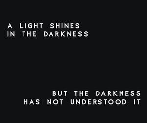 black, black and white, and words image