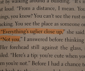 book, quote, and paper towns image