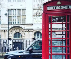 london, Londra, and taxi image