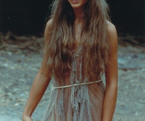 brooke shields, hair, and blue lagoon image