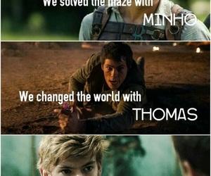 newt, thomas, and minho image