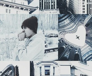 Collage, wallpaper, and justin bieber image