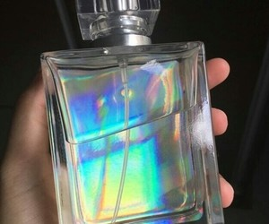 holographic, aesthetic, and perfume image