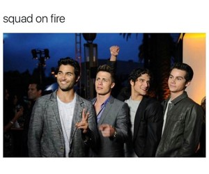 squad goals and teen wolf image