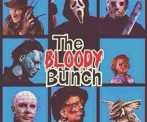 Chucky, scream, and the bloody bunch image