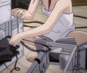 anime, 90s, and cartoon image