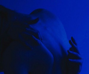 blue, aesthetic, and dark image