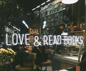 books, forever, and love image