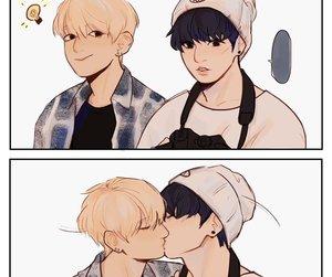 kpop, seokjin, and jungkook image