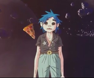 2d, gorillaz, and humanž image