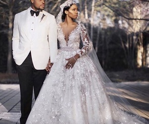 wedding, dress, and goals image