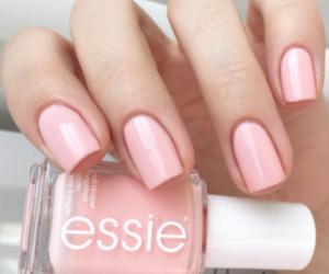 nail polish, pink, and pink nail polish image