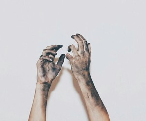 dirt, dirty, and dirty hands image