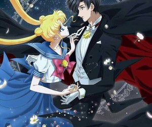 sailor moon, anime, and sailor moon crystal image