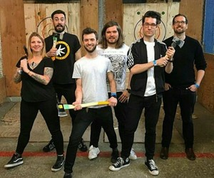 band, bastille, and music image