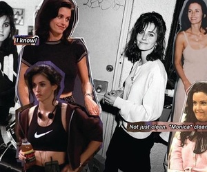 90s, courtney cox, and funny image