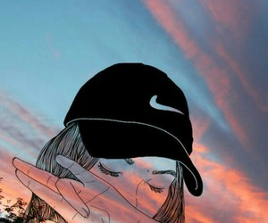 tumblr, nike, and wallpaper image