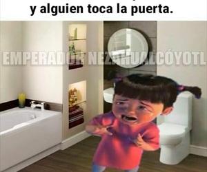 humor, memes en español, and bano image