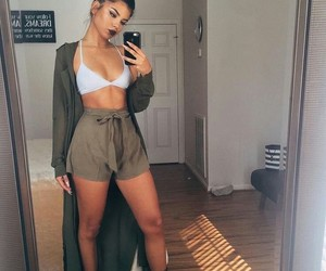clothes, contour, and fashion girly image
