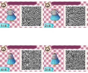 acnl, qr codes, and animal crossing new leaf image