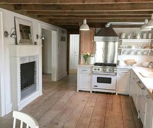farmhouse, home decor, and farmhouse kitchen image