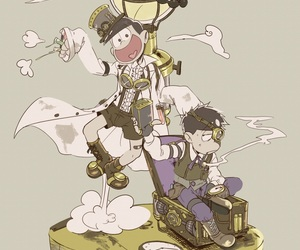 manga, series, and steam punk image