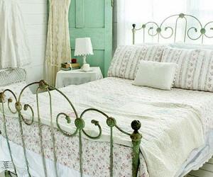 bedroom, vintage, and decor image