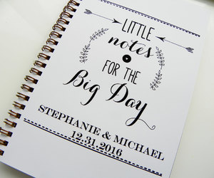 etsy, bride gift, and wedding planner image