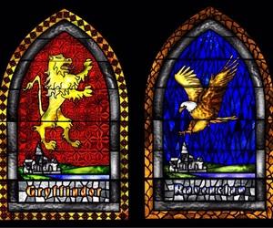 slytherin, ravenclaw, and hufflepuff image