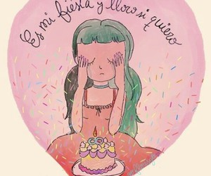 cry baby, dibujos, and frases image