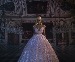 dress, princess, and bride image