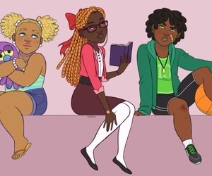 power puff girls, ppg, and melanin image