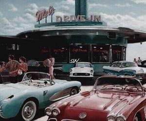 vintage, car, and retro image
