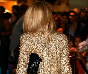 blonde, fashion, and gold image