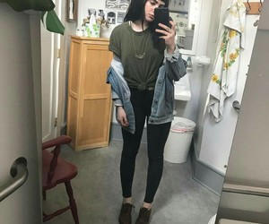 boots, girl, and grunge image