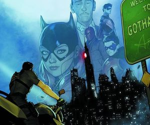 Alfred, dick grayson, and gotham city image