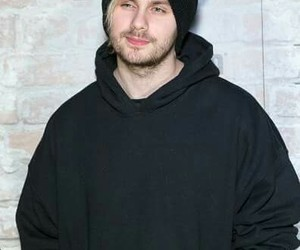 beanie, black, and mike image