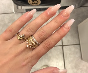 gold, mk, and nails image