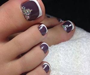 jewelry, manicure, and beautiful nails image