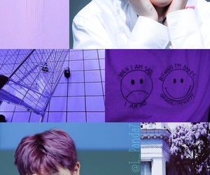 blanco, Collage, and kpop image