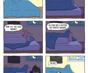 foot, monster, and sleep image