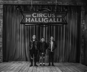 music, rock, and circus halligalli image