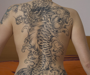 tattoo and fish image