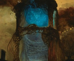 art, fantasy, and Zdzislaw Beksinski image