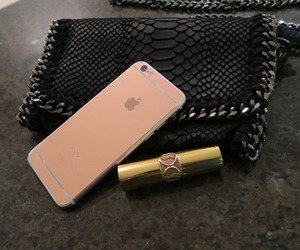 bag, iphone, and lipstick image