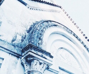 blue, indie, and white image