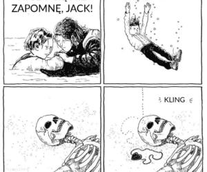 jack dawson, kate winslet, and titanic image