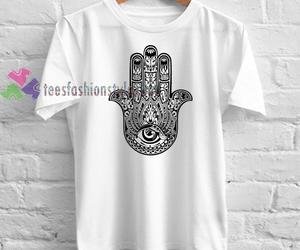 hamsa shirt, chaser hamsa shirt, and hamsa shirt forever 21 image