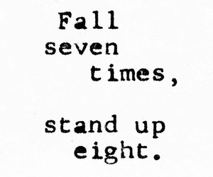 quotes, fall, and stand up image